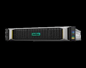 Система хранения HPE MSA 2042, два контроллера SAS, твердотельный накопитель Mainstream Endurance большого форм-фактора