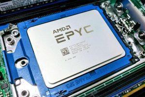 Сервер с процессором AMD Epyc