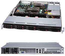 Серверная платформа Rack 1U 2P Supermicro SYS-1029P-MTR