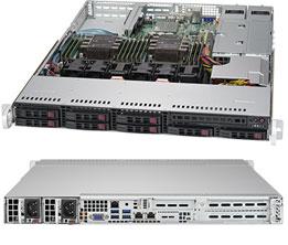 Серверная платформа Rack 1U 2P Supermicro SYS-1029P-WTR