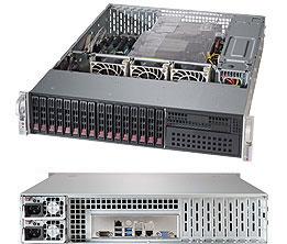 Серверная платформа Rack 2U 2P Supermicro SYS-2028R-C1R