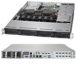 Серверная платформа Rack 1U 2P Supermicro SYS-6019P-WTR