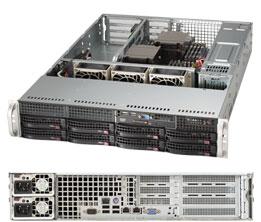 Серверная платформа Rack 2U 2P Supermicro SYS-6028R-WTRT