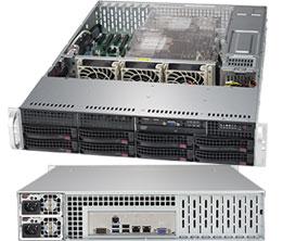 Серверная платформа Rack 2U 2P Supermicro SYS-6029P-TR