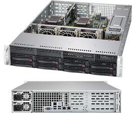 Серверная платформа Rack 2U 2P Supermicro SYS-6029P-WTR