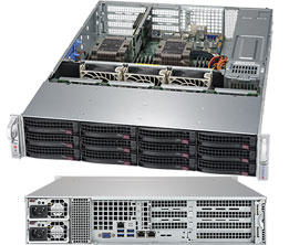 Серверная платформа Rack 2U 2P Supermicro SYS-6029P-WTRT