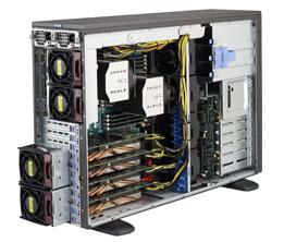 Серверная платформа Tower 4U 2P Supermicro SYS-7048GR-TR