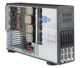 Серверная платформа Tower 4U 4P Supermicro SYS-8048B-TR4F