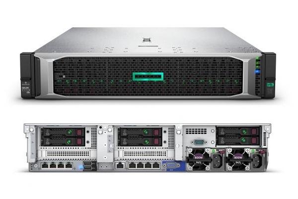 Обзор сервера HPE ProLiant DL380 Gen10