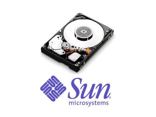 Жеские диски Sun Microsystems