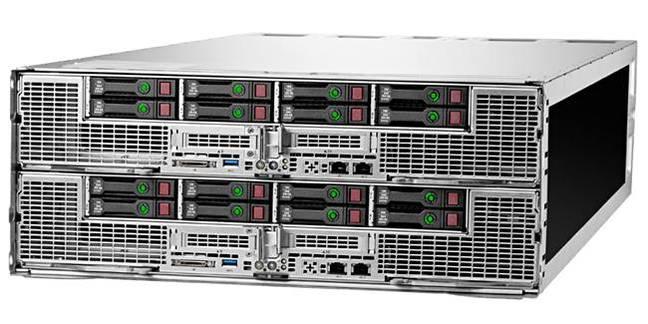 Серверное шасси HPE Apollo 6500 Gen9 c 2 модулями XL270d